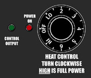 RedFlash Adjustable Heat Control