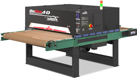BigRed 4D 54 - Infrared Conveyor Dryers