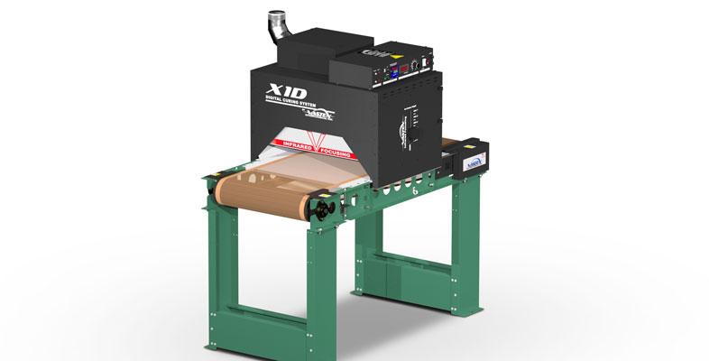 Compact Infrared Conveyor Dryer Little Red X1 D Vastex