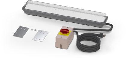 Optional light kit