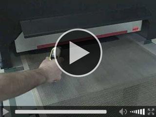 High Production Infrared Conveyor Dryers - EconoRedII -Vastex
