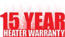 15 Year Heater Warranty