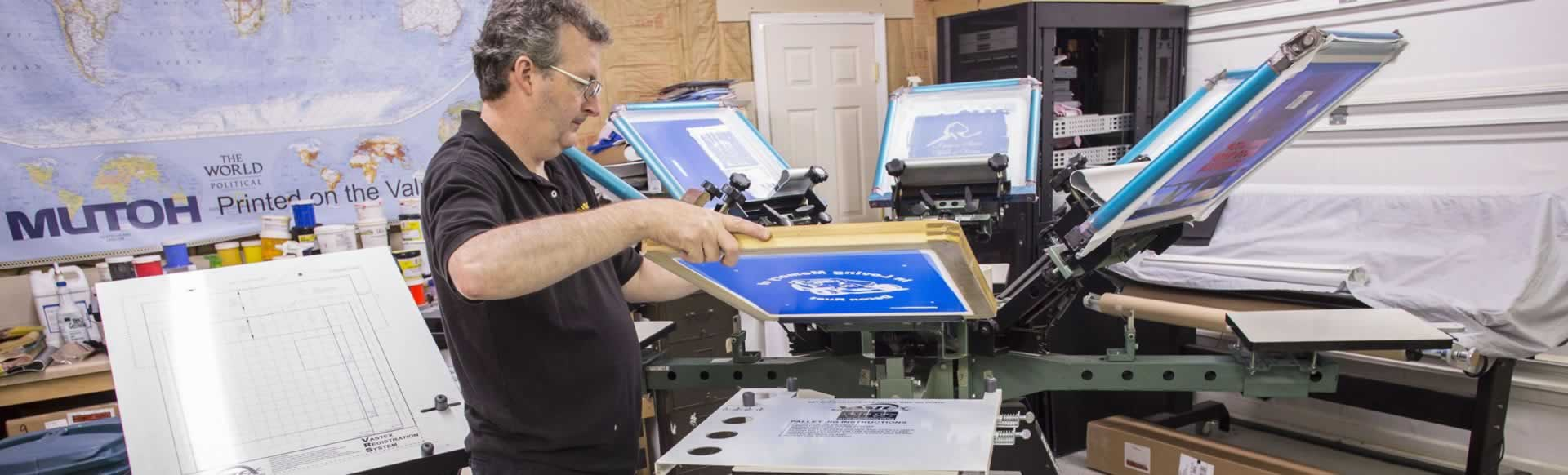 Builder of Race Engines Builds High Performance Screen Printing Business
