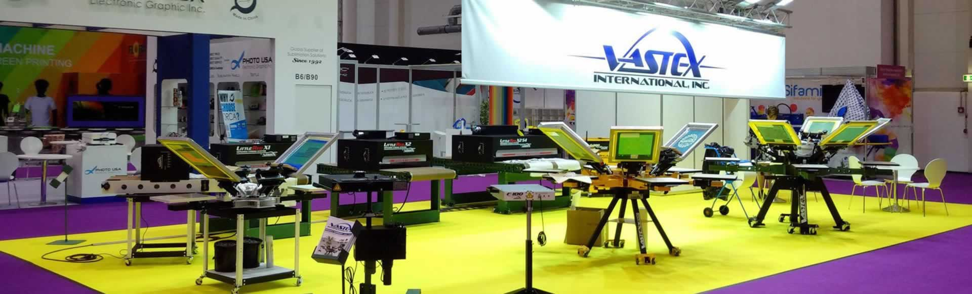 Visit Vastex At Tradeshows Worldwide