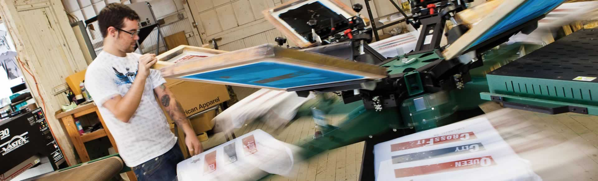 Social Media Savvy Screen Printer Growing 30 Percent Per Year